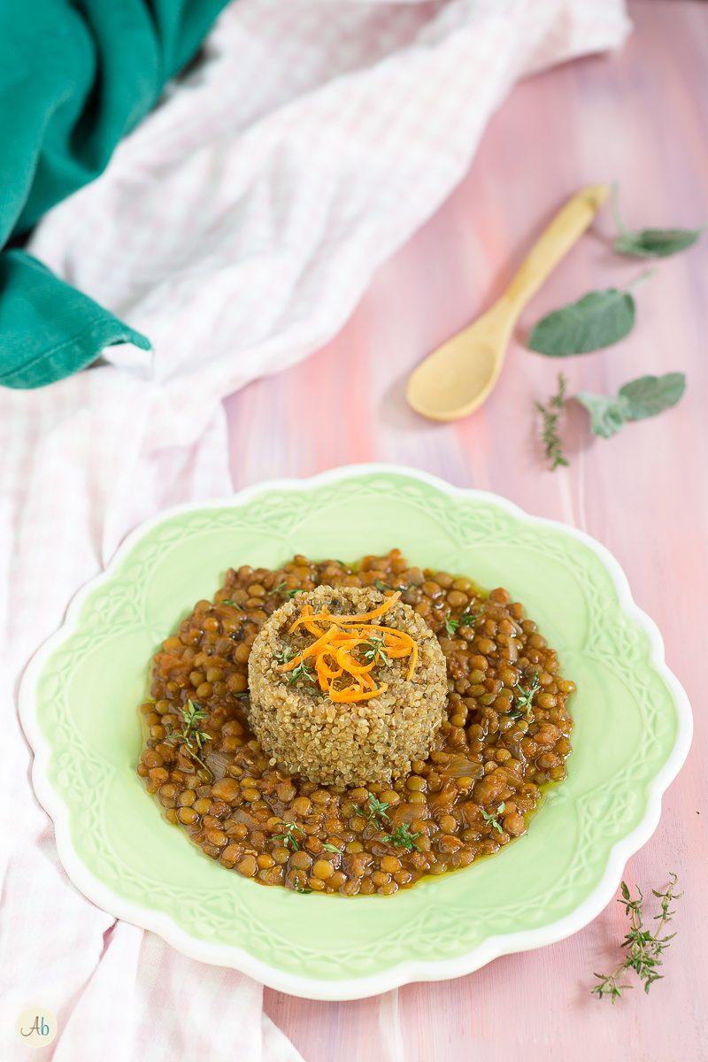 Quinoa e Lenticchie