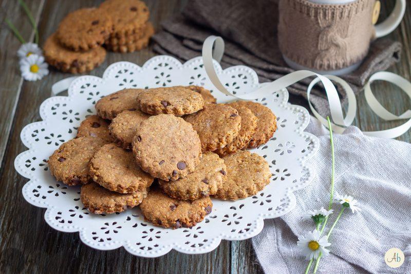 Biscotti della salute al cioccolato
