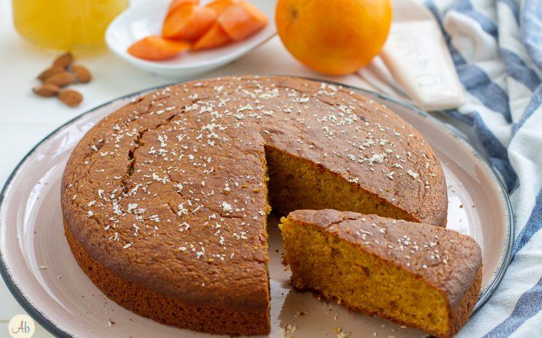 Torta Camilla consapevole – carote mandorle arancia