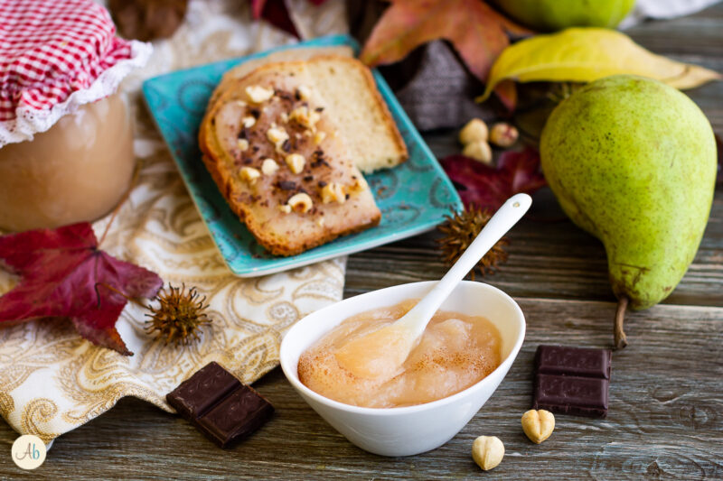 Composta di pere con agar agar senza zucchero