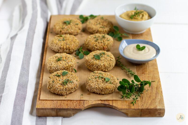 Polpette speziate di grano saraceno e ceci