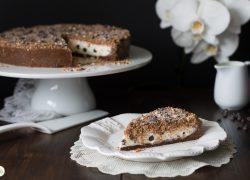 Torta sbriciolata mascarpone e cioccolato – senza cottura