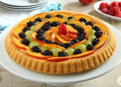 Torta Californiana – crostata morbida alla frutta