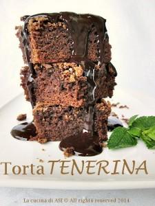LA TORTA TENERINA La cucina di ASI