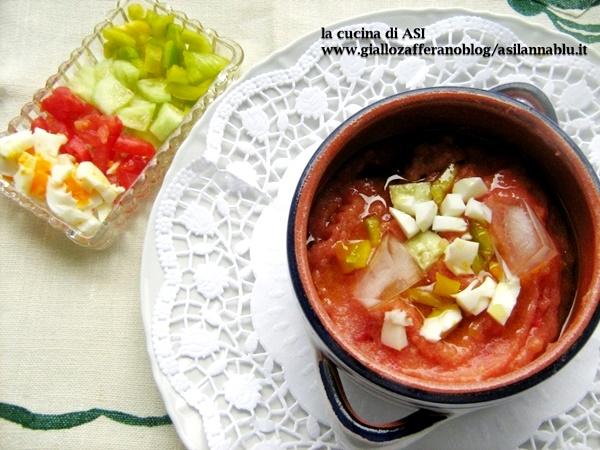 GAZPACHO ANDALUZ La cucina di ASI Blog