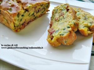 cake zucchine speck La cucina di ASI