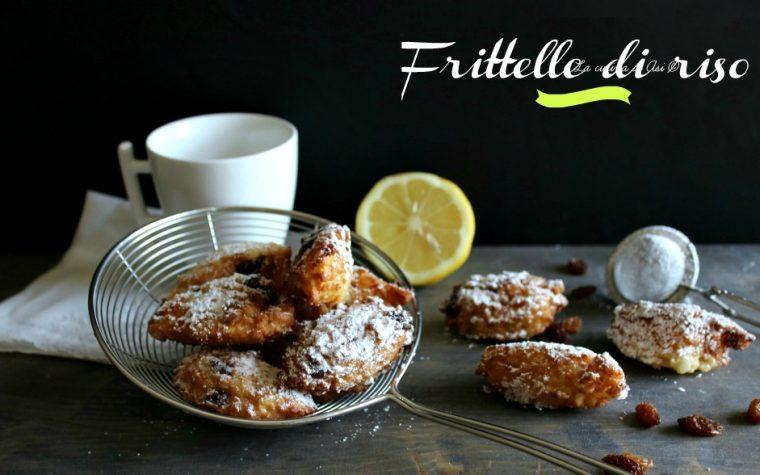 FRITTELLE DI RISO ricetta dolce veloce