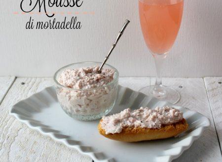 MOUSSE DI MORTADELLA ricetta antipasto