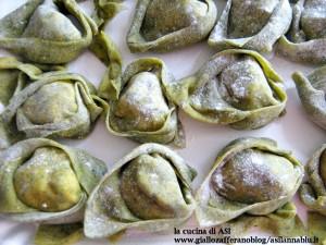 tortellacci-verdi-con-ricotta-e-noci-la cucina di ASI