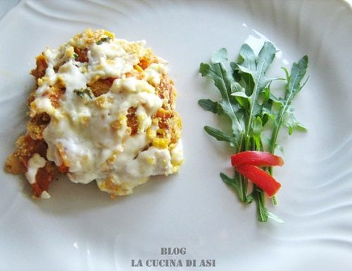 TORTA DI ZUCCA E STRACCHINO ricetta salata