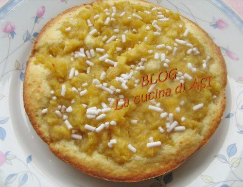 TORTA DI MELE E COCCO ricetta dolce