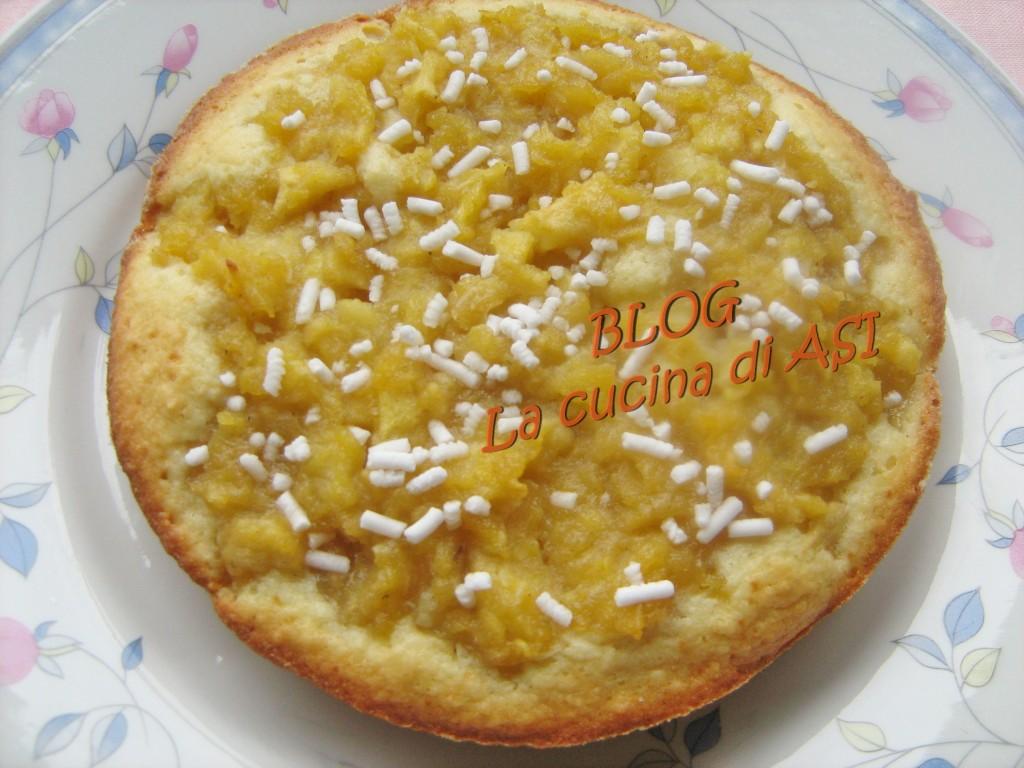 torta di mele e cocco