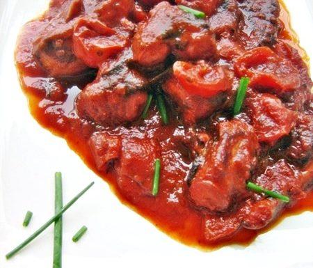 POLPO ALLA MONEGASCA ricetta di pesce