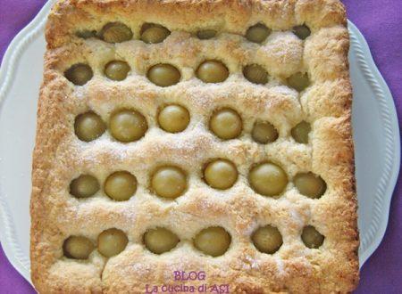 SCHIACCIATA ALL'UVA ricetta dolce