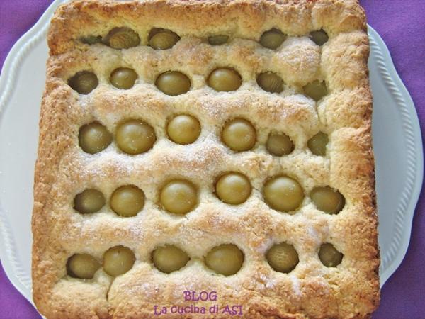 Schiacciata all 39 uva la cucina di asi for Nuove ricette dolci