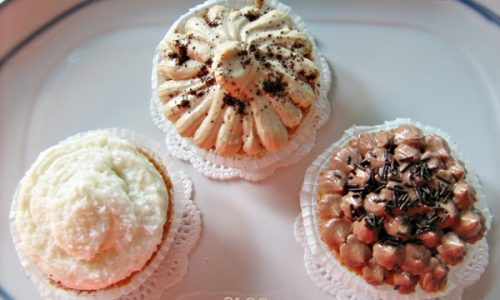 CUPCAKES AL TRIPLO FROSTING ricetta dolce