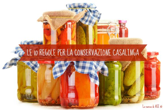 Le conserve in 10 punti
