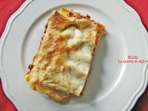 lasagne La cucina di ASI