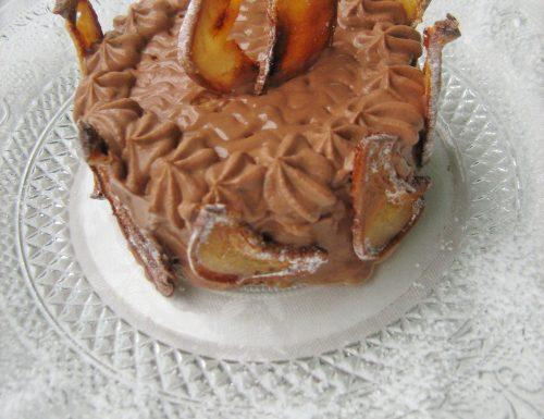 TORTA DI CIOCCOLATO E PERE (ricetta dolce da CREA & DECORA)