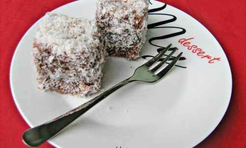 LAMINGTONS ricetta dolce australiana