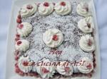 torta cioccolato con frutta brinata la cucina di ASI
