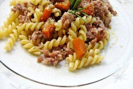 ELICHE CON ZUCCA E SALSICCIA ricetta di stagione
