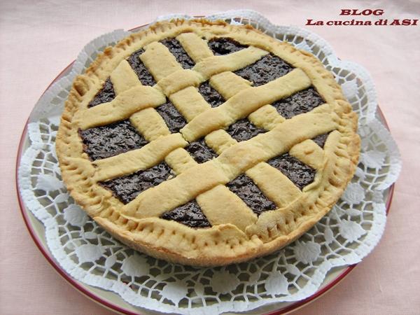 crostata-con-riso-e-cioccolato la cucina di ASI