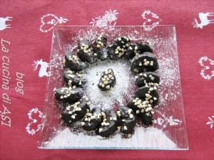 mandarini al cioccolato e mandorle la cucina di ASI