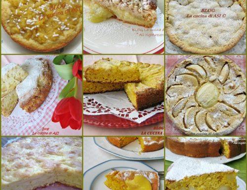 RACCOLTA RICETTE  TORTE DI MELE ricetta dolce