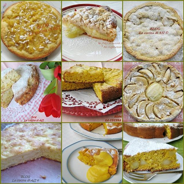 Raccolta ricette torta di mele la cucina di asi - La cucina di sara torte ...