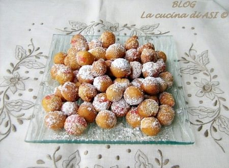 CASTAGNOLE  Ricetta dolce per  Carnevale