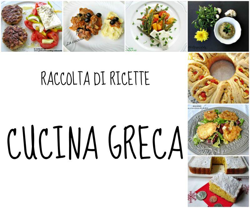 Raccolta di ricette greche ricette della cucina greca for Ricette di cucina particolari