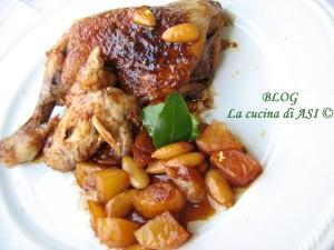pollo-mandorle-miele-limone La cucina di ASI