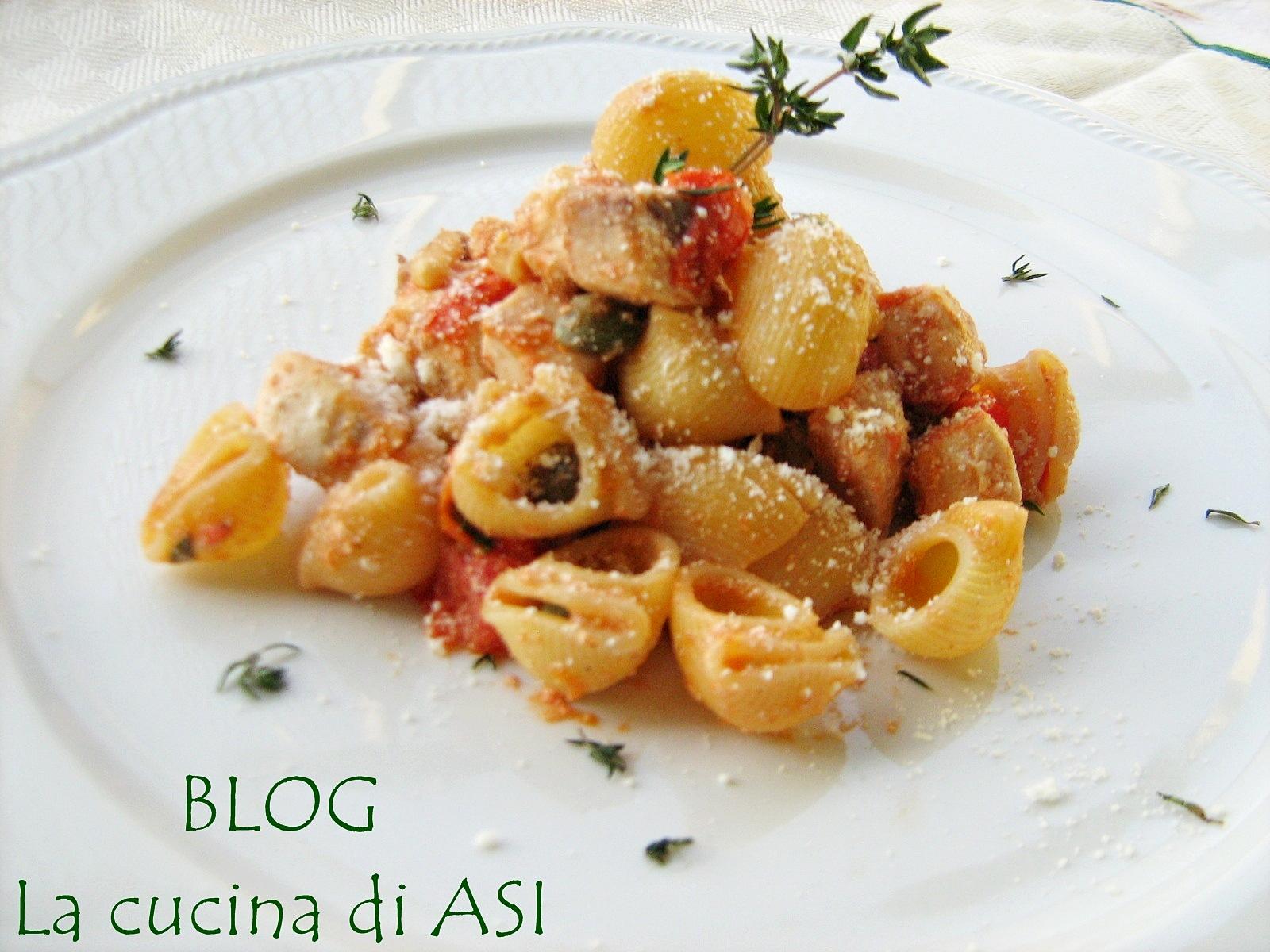 Pasta con pesce spada ricetta appetitosa con pesce for Ricette italiane primi piatti