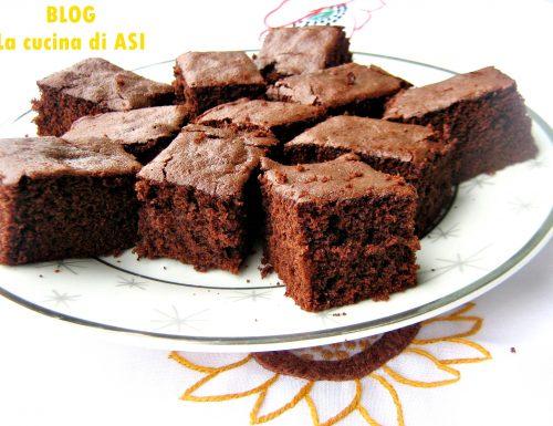 CHOCOLATE BROWNIE Ricetta dolce al cioccolato