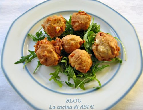 FRITTELLE DI CAVOLFIORE IN PASTELLA DI GRANO SARACENO Ricetta salata