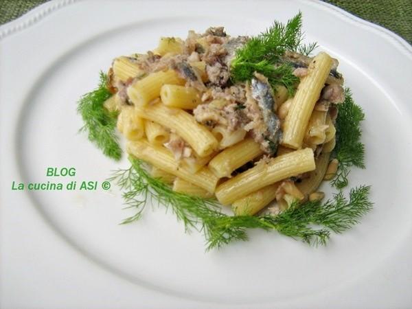 MACCHERONCINI CON LE SARDE Ricetta primo piatto pesce