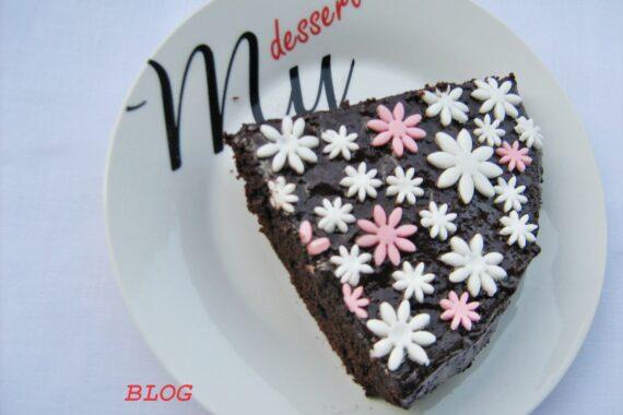 TORTA SUPERCIOCCOLATOSA  CON RICOTTA Ricetta dolce al cioccolato