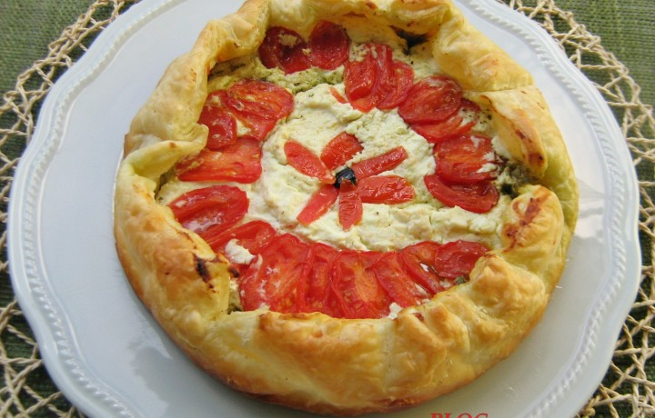 TORTA SALATA TRICOLORE  Ricetta salata