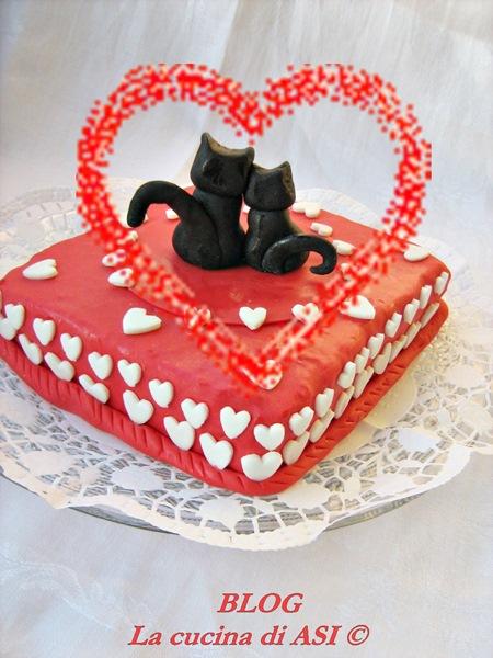 torta san valentino La cucina di ASI