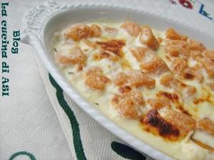 GNOCCHETTI di zucca con formaggi gratinati La cucina di ASI