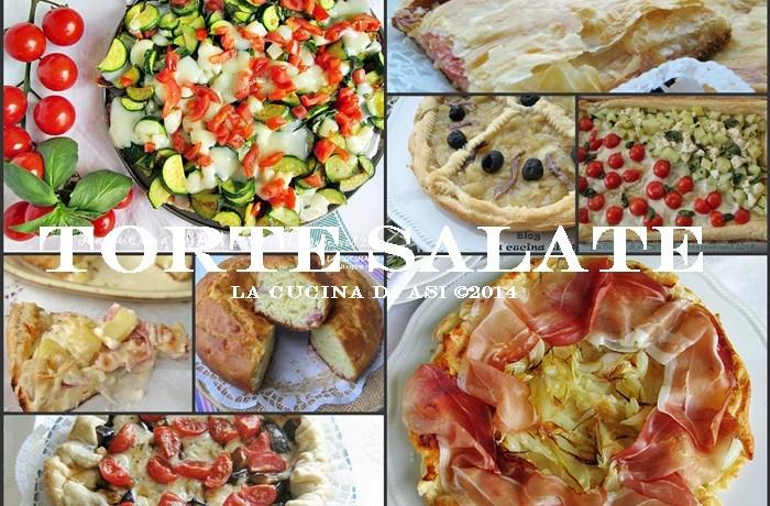TORTE SALATE  Raccolta ricette di torte salate!