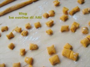 gnocchetti di zucca con formaggi gratinati al forno la cucina di ASI