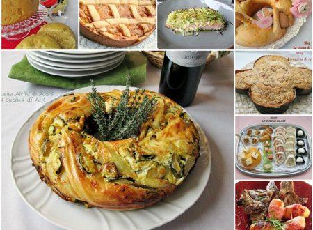 MENU DI UN GIORNO DI FESTA Raccolta di ricette  per la Pasqua