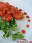 polpettine di pesce con pomodoro La cucina di ASI