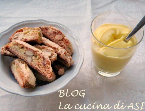 CANTUCCI Ricetta regionale  dolce