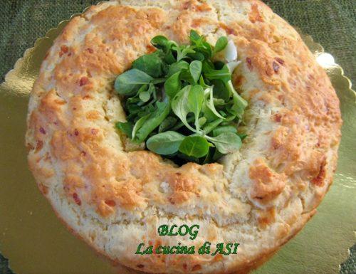 Corona salata ai formaggi – Ricetta salata