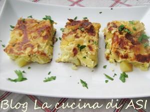 tortino di cipolle e patate La cucina di ASI