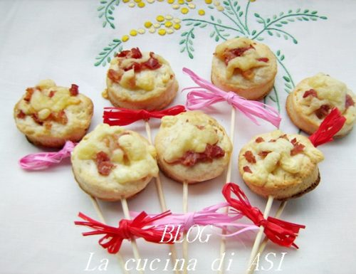 LOLLIPOPS SALATI Ricetta Finger food/antipasti