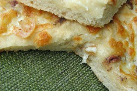 FOCACCIA SALATA CON ACCIUGHE E MOZZARELLA Ricetta salata con Lievito Madre